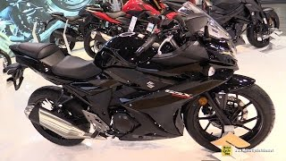 2017 Suzuki GSX 250R - Walkaround - Debut at 2016 EICMA Milan(Welcome to MotorCycleTube!!! On our channel we upload daily, our original, short (2-3min) walkaround videos of Motorcycles - Sport and Racing, Touring Bikes, ..., 2016-11-08T23:05:15.000Z)