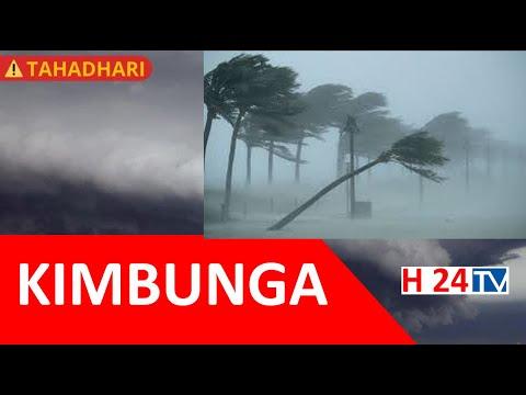 BREAKING NEWS: KIMBUNGA JOBO chazidi kuikaribia Tanzania, Wataalamu waonya