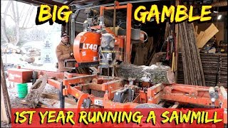 He risked everything to Run a Sawmill