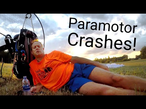 Pilot DISLOCATES ANKLE while attempting the hay bale slalom!!! - Reacting to crash videos pt. 9 from YouTube · Duration:  17 minutes 19 seconds