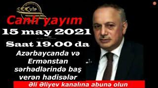 Əli Əliyev Elçin Rəhimzadə ilə canlı yayımda. Həftə yekunu.