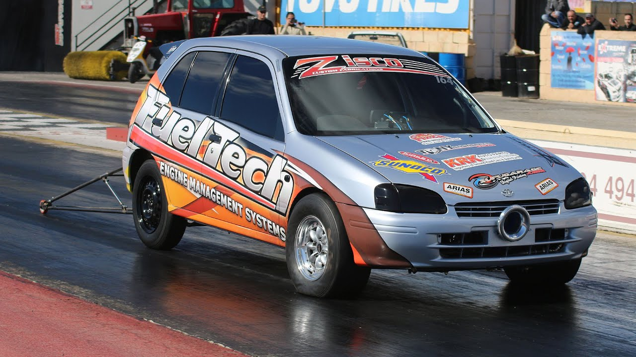 FWD Drag Racing at Hal Far Raceway - Compilation