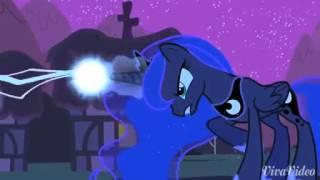 Прикол с пони каденс против луны