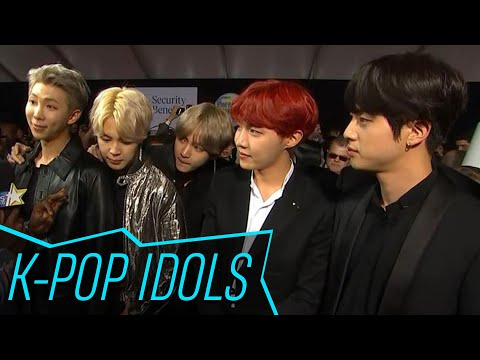 BTS Reacts To Having Niall Horan As A Fan & Their 2017 AMAs Performance | Access Hollywood