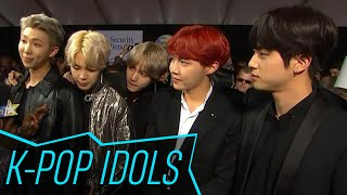 BTS Reacts To Having Niall Horan As A Fan & Their 2017 AMAs Performance | Access Hollywood MP3
