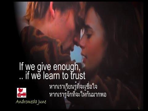 เพลงสากลแปลไทย Only Love -Trademark (Lyrics &Thai subtitle)