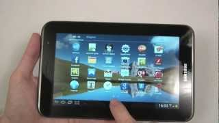 Samsung Galaxy Tab 2 7.0 (P3100) unboxing and hands-on