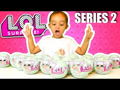 MORE LOL SURPRISE DOLLS SERIES 2 OPENING WITH WEIGHTS