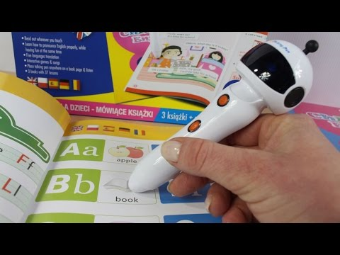 English for Children - Talking Books - Studentbooks Children English & Magic Talking Pen
