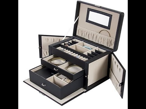 Top 3 best jewelry boxes reviews 2017