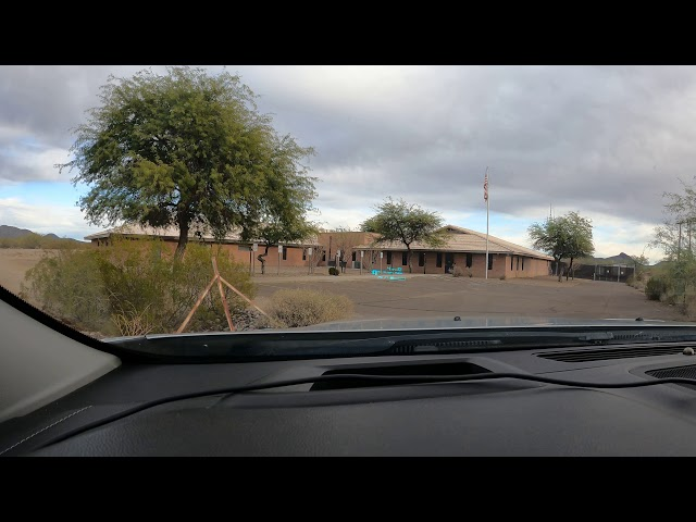Plane Lifts Off, Airport Road, Sells, Arizona, Sells Airport-E78, 31 December, 2020, GX010109
