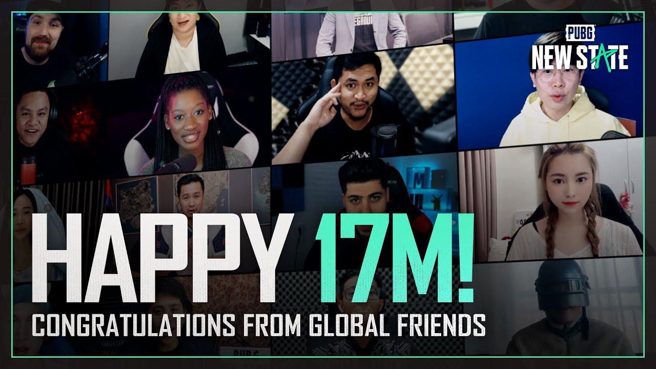 17M Pre-registrations Celebration from Global Friends