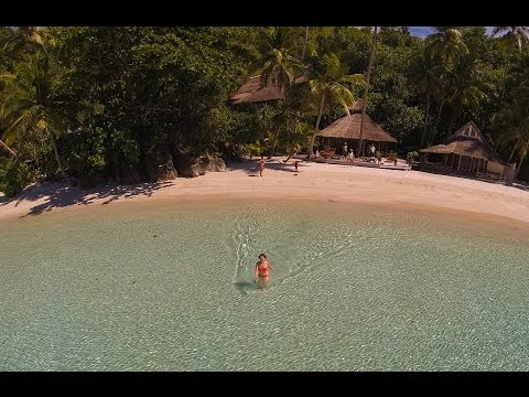Misool Eco Resort, South Raja Ampat Indonesia - Surface interval with DJI Phantom 2 + GoPro Hero3