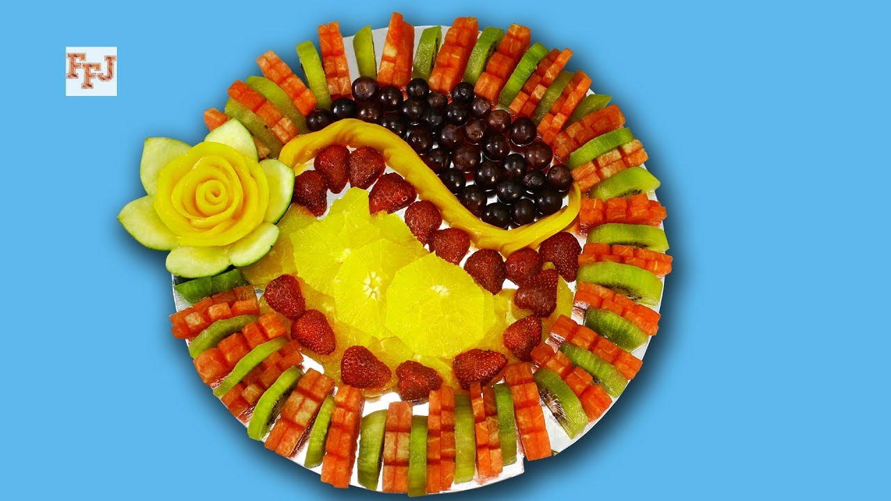 Fruit Decorating Cutting Slicing Designing Serving The Art Of
