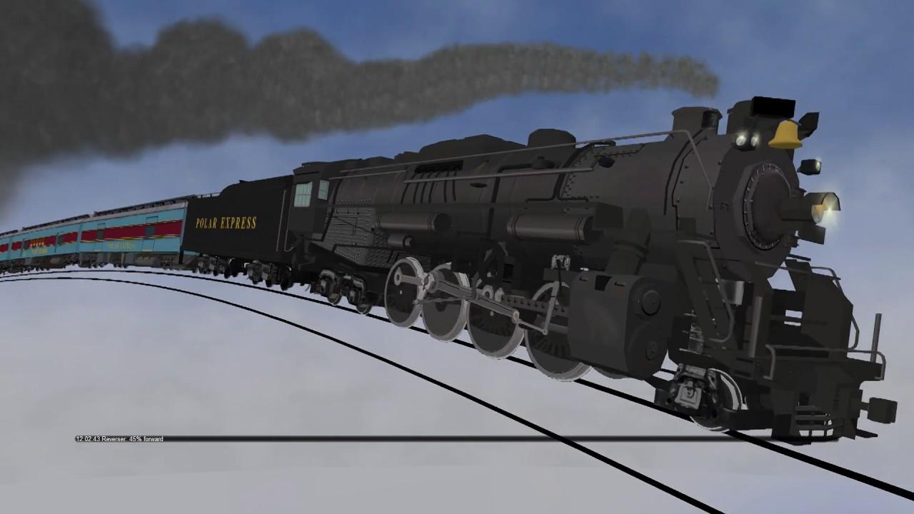polar express lego train set # 5