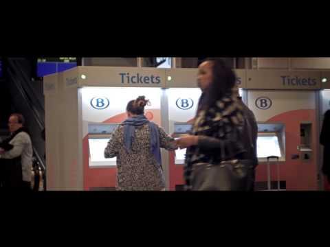 Brussels Midi Station In 4K