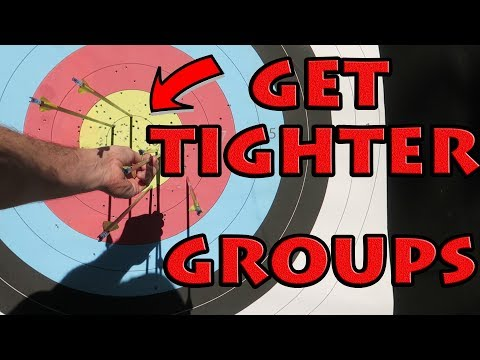 how to shoot tighter groups at 70m