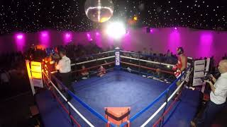 Ultra White Collar Boxing | Bath | Danny Ovens VS Lewis Taylor