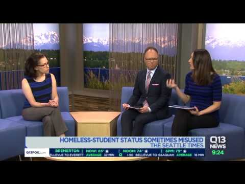 Homeless-Student Status Sometimes Misused. Seattle Times Reporter Claudia Rowe Explains.
