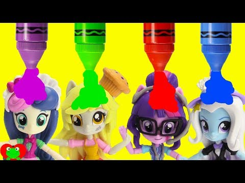Thumbnail: My Little Pony Magic Turns Into Equestria Girls
