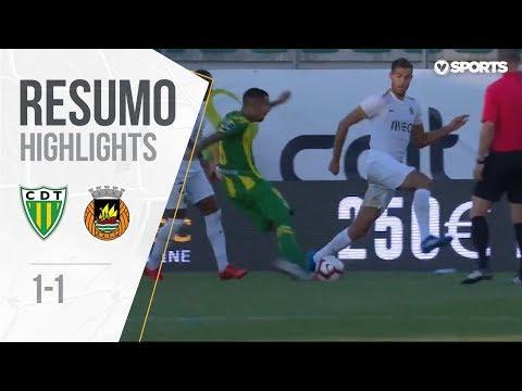 Highlights | Resumo: Tondela 1-1 Rio Ave (Liga 18/19 #3)