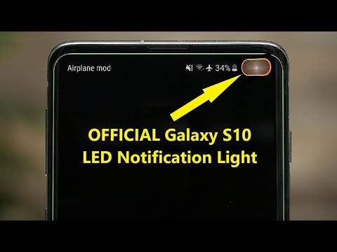 OFFICIAL Galaxy S10 LED Notification Light