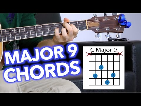 Cmaj9 Guitar Chord Worshipchords