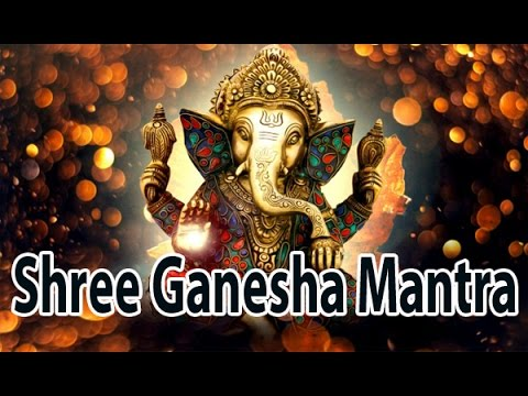 Strong Mantra To Fulfill All Wishes l Shree Ganesha Mantra l श्री गणेश मंत्र