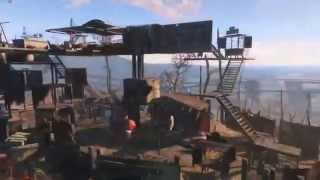 строительство и свои поселения в Fallout 4