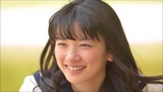 永野芽郁がNHK連続テレビ小説「半分、青い。」のヒロイン役に決定した時...