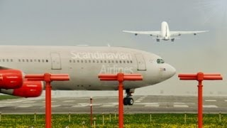 End of the Runway: Heavy Takeoff and Landings! [HD]