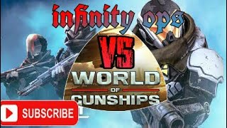 Infinity ops sci-fi vs world of gunship ||| new game 2018||| **100% working links** by gaming chamms