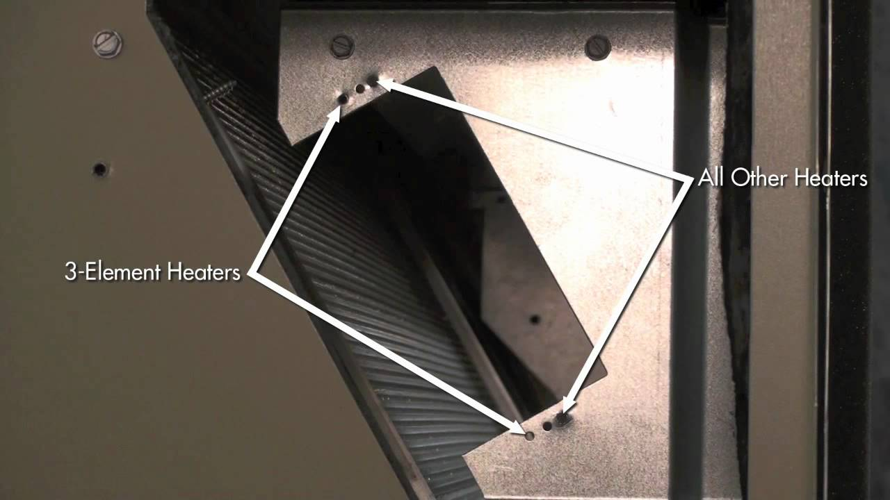 Marvair Electric Heat Installation