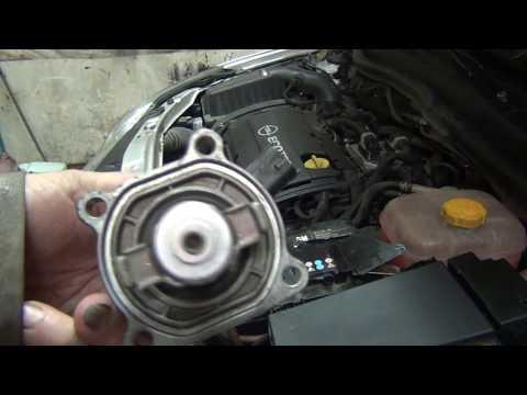 Opel Astra H Закипает. Электронный термостат.