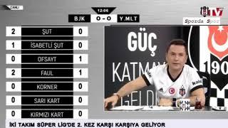 BJK TV MAÇ ANI GOL SEVİNÇLERİ BEŞIKTAŞ 3 1 YENİ MALATYASPOR 22 Nisan 2018