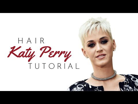 Katy Perry Pixie Haircut Tutorial - TheSalonGuy