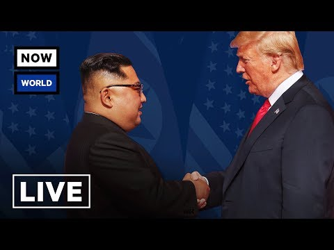 LIVE: President Trump Meets with North Korean Leader Kim Jongun in Singapore  NowThis World