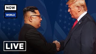 LIVE: President Trump Meets with North Korean Leader Kim Jong-un in Singapore | NowThis World