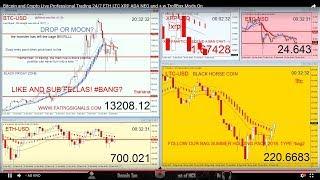 Bitcoin DIP Next Station 24k Crypto Trading 24/7 - ETH - XRP - BCH - ADA - LTC - XLM TRX NEO TRUMP