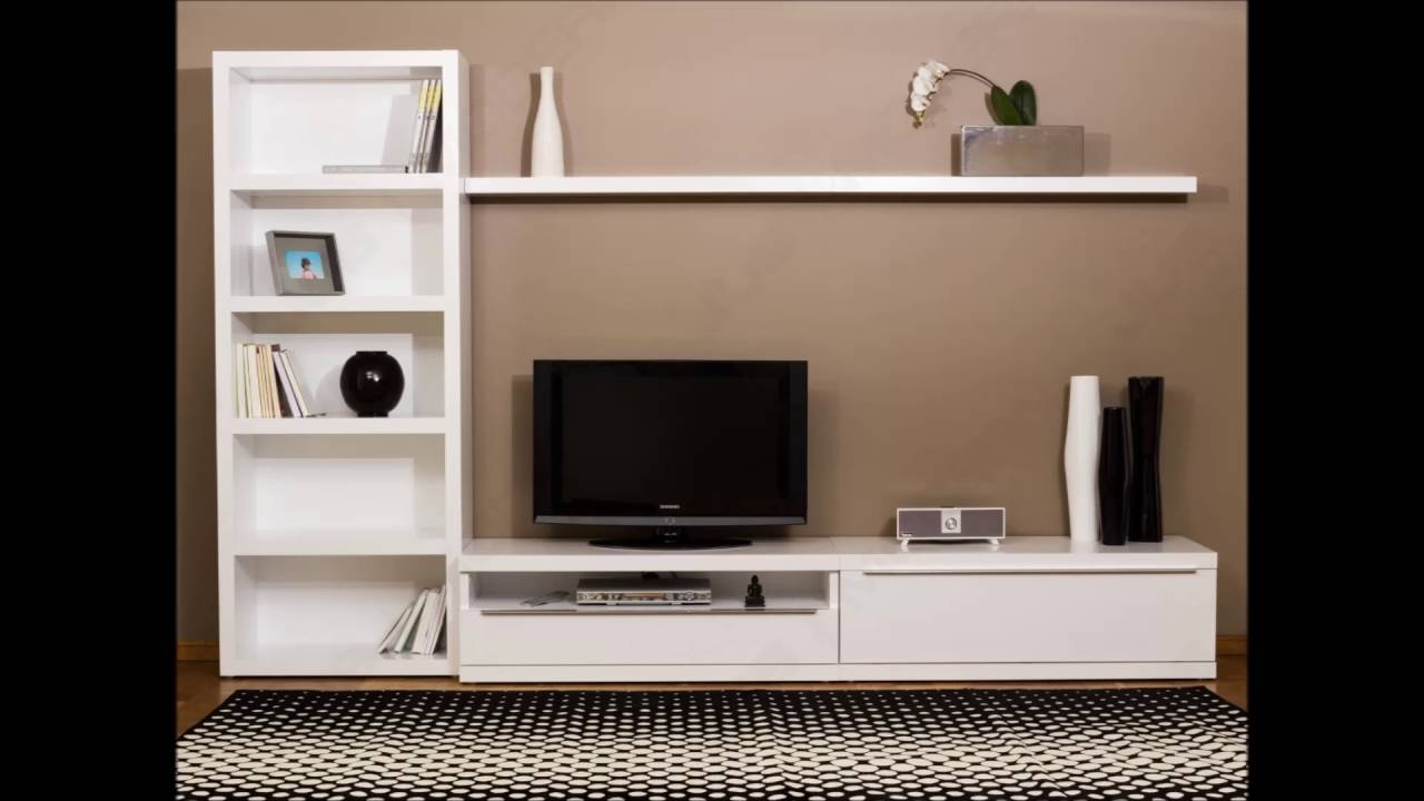 Lcd Tv Furniture For Living Room Lcd Tv Cabinet Designs Youtube