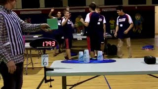 Individual 3-6-3 Sport Stacking World Record 1.793 (William Orrell)