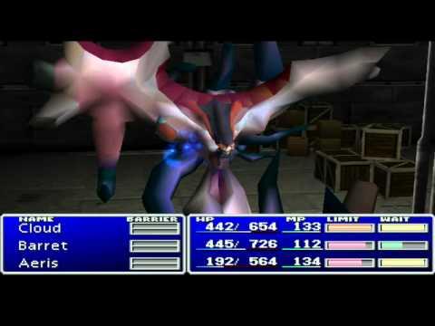 Let's Play Final Fantasy VII Episode 22 :: Surprise on the Cargo Ship