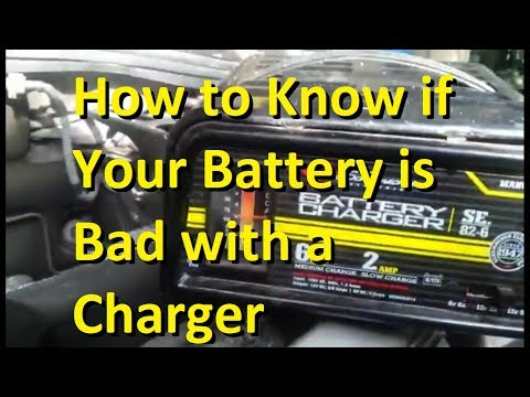 How To Know If Your Battery Is Bad With Charger