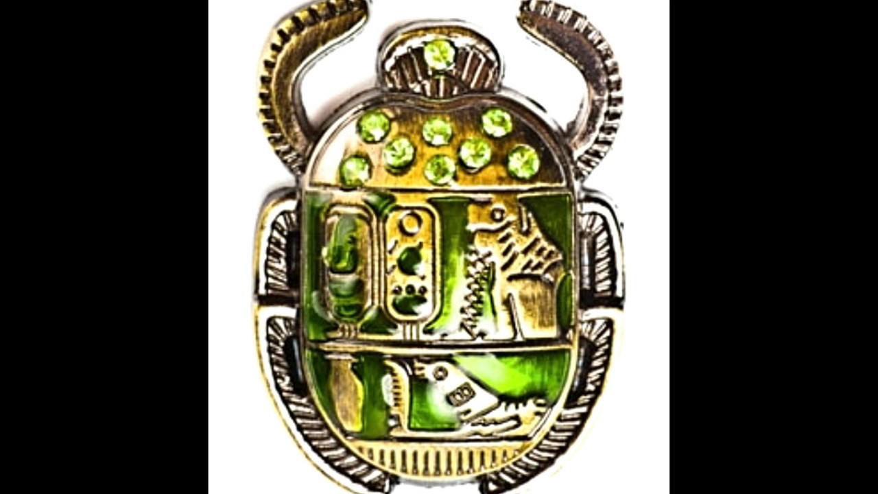 The Significance Of The Egyptian Scarab Beetle Through The Ages