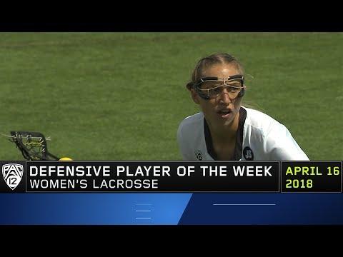 Colorado's Sarah Brown garners Pac12 Women's Lacrosse Defensive Player of the Week honor