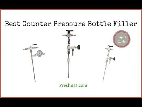 Best Counter Pressure Bottle Filler (2020 Buyers Guide)