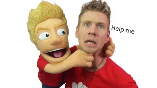 I TRY PUPPET MAKING - *It goes Horribly Wrong!*...