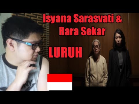 (Filipino Reaction) Isyana Sarasvati And Rara Sekar Singing Luruh From Milly & Mamet L Indonesia