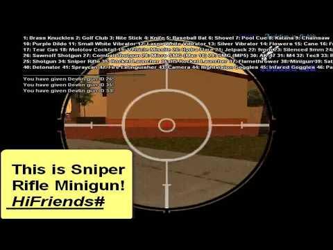 Gta Sa Samp - Hack Rapid Fire All Weapons