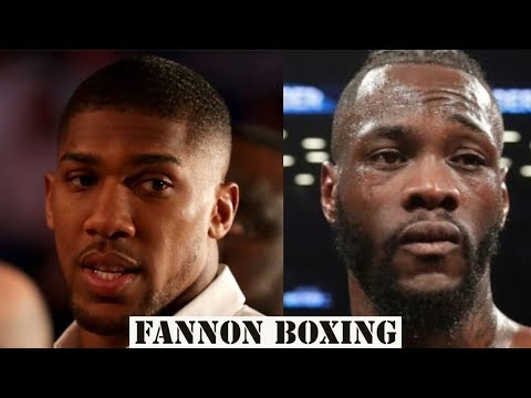 (SMH!!!) ANTHONY JOSHUA CLAIMS $28 MILLION OFFER TO WILDER??     SOME PEOPLE BELIEVE ANYTHING